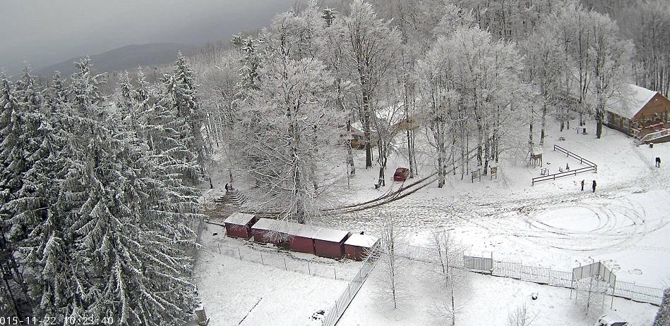 Kékestető hó
